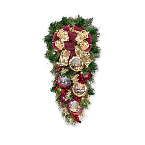 Thomas Kinkade – Welkom met kerst