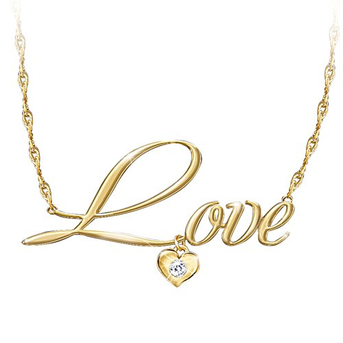 'Declaration Of Love' Diamond Ladies' Necklace