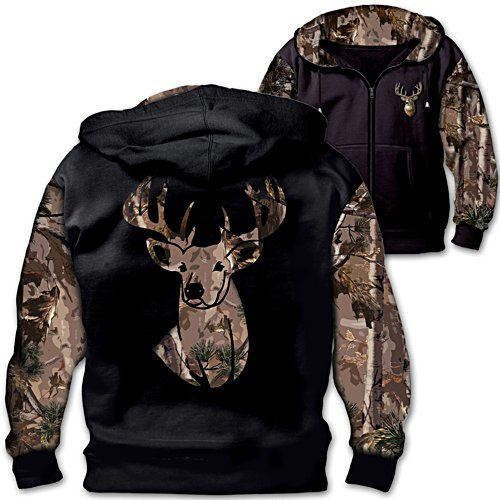 "Al Agnew ""10-Point Buck"" Men's Camo Hoodie"
