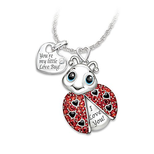 'Granddaughter, You're Cute As A Bug' Necklace