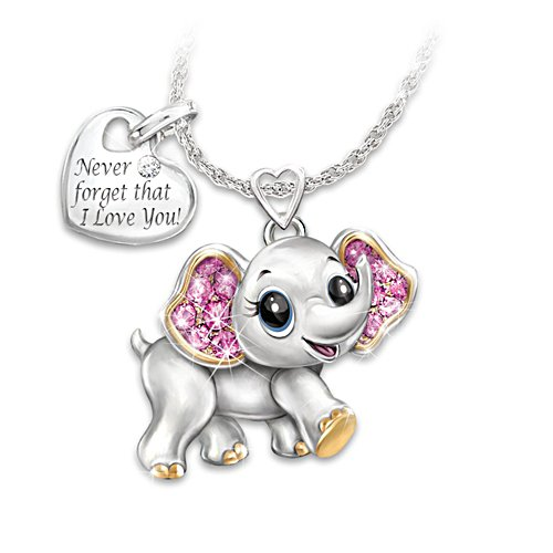 'Granddaughter, Never Forget I Love You' Necklace