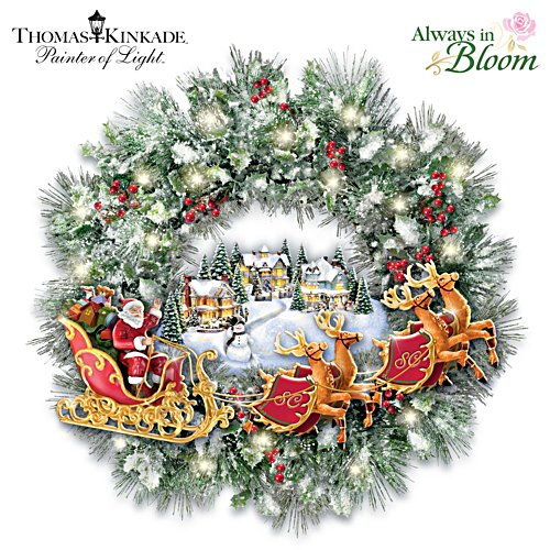 Weihnachten mit Santa Claus
