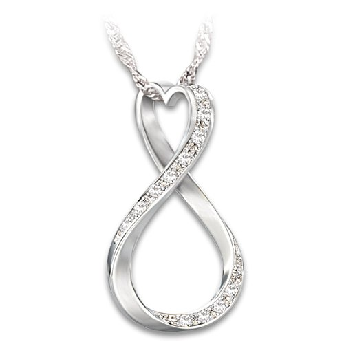 'Forever My Granddaughter' Diamond Pendant