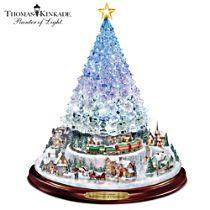 "Thomas Kinkade ""Reflections Of Christmas"" Tree"