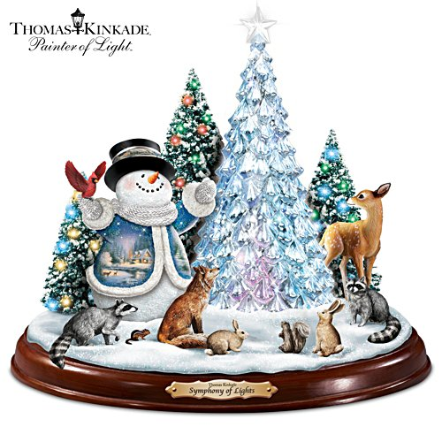 Thomas Kinkade 'Symphony Of Lights' Sculpture