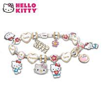 """Hello Kitty Wishes"" Beaded Charm Bracelet"