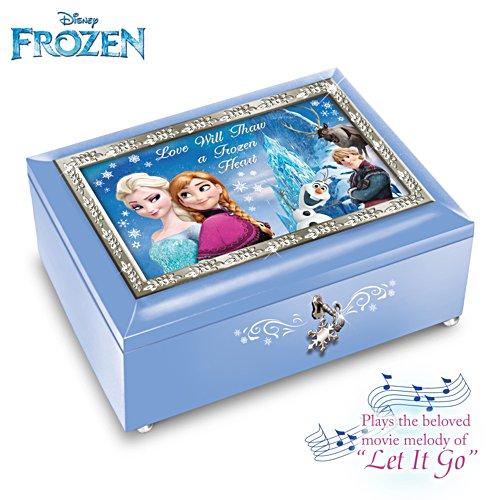 Liebe taut ein gefrorenes Herz – Disney-Musikdose (blau)