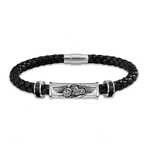 """Ride The Wind"" Leather Bracelet"
