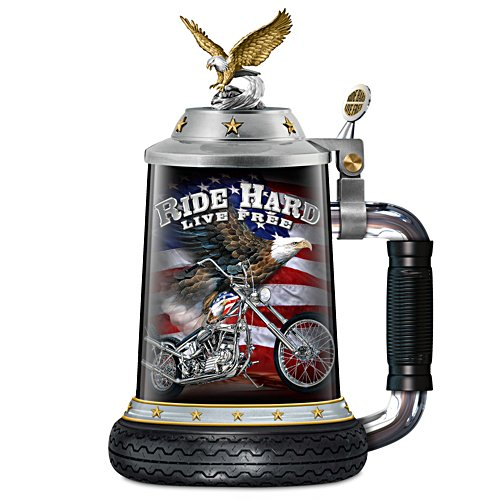 Ride Hard, Live Free – Bikerbierkrug