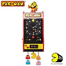 Illuminated PAC-MAN Arcade Wall Clock