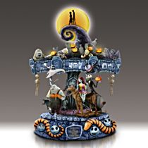Disney Tim Burton's The Nightmare Before Christmas Musical Carousel