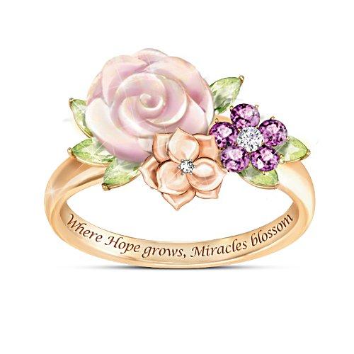 Blütenwunder – Damenring