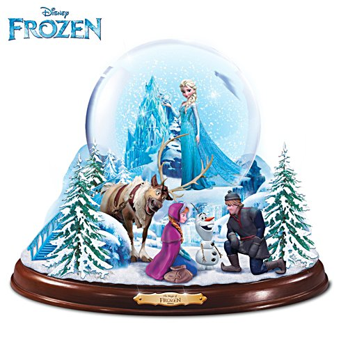 Disney FROZEN Light Up Musical Snowglobe