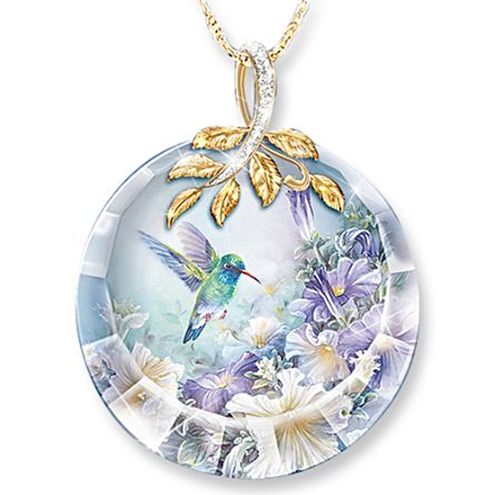 Lena Liu 'Nature's Tiny Miracle' Ladies Pendant