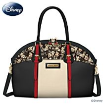 "Disney Mickey Mouse and Minnie Mouse ""Caught In The Moment"" Women's Handbag"
