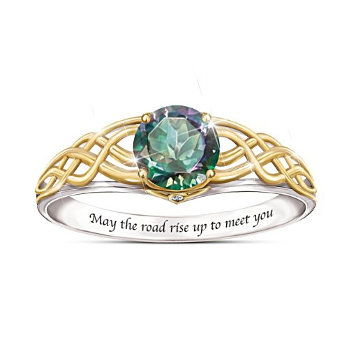 'For The Love Of Ireland' Mystic Topaz Ring