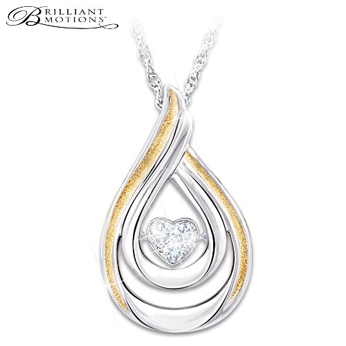 Brilliant Motions Diamond Daughter Pendant