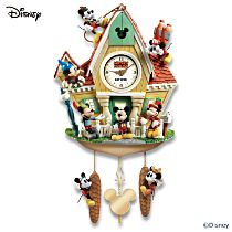 Mickey Through the Years Cuckoo Clock