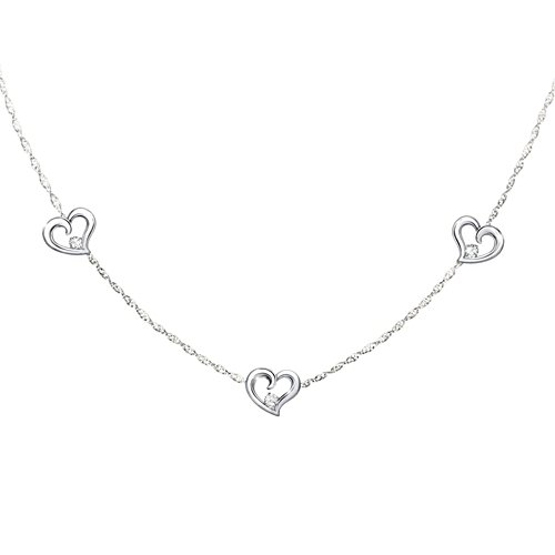"""""""Today, Tomorrow, Always"""" Diamond Necklace For Granddaughter"""