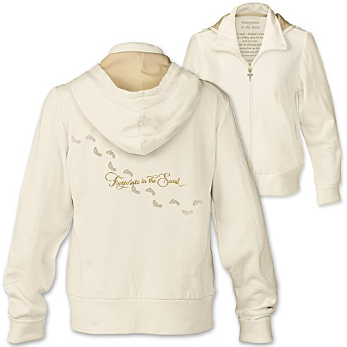 """Footprints In The Sand"" Women's Hoodie"