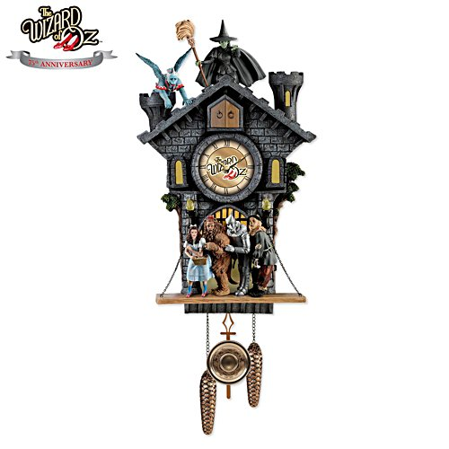 The Wizard of Oz™ 'All in Good Time, My Little Pretty' Cuckoo Clock