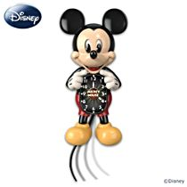 Mickey Mouse Motion Clock With Moving Eyes And Tail