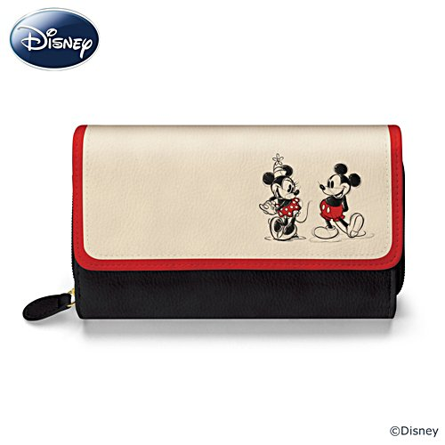 Disney 'Mickey And Minnie Love Story' Wallet