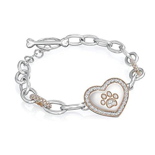 'Dog Lover's' Swarovski® Crystal Bracelet