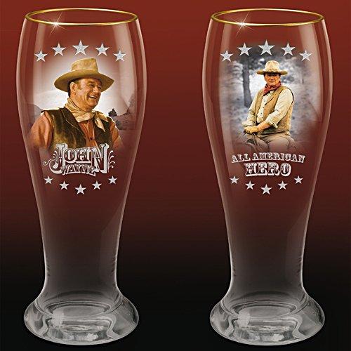 Prost John Wayne – Zwei Bierglässer - Set 2