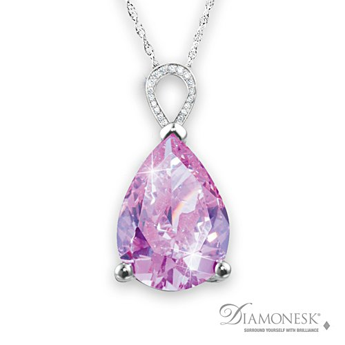 Diana, Princess Of Wales Diamonesk® Pendant