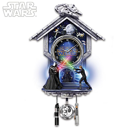 Star Wars™: Sith vs. Jedi Clock