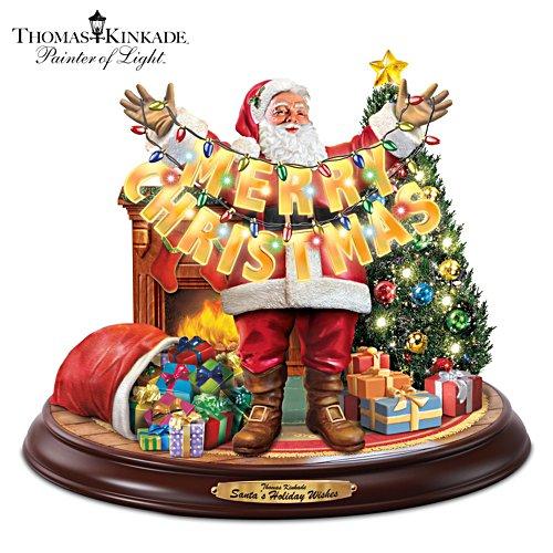 Santas fröhliche Weihnachtsgrüße
