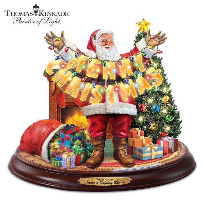 Weihnachtsgrüße Personalisiert.Santas Fröhliche Weihnachtsgrüße