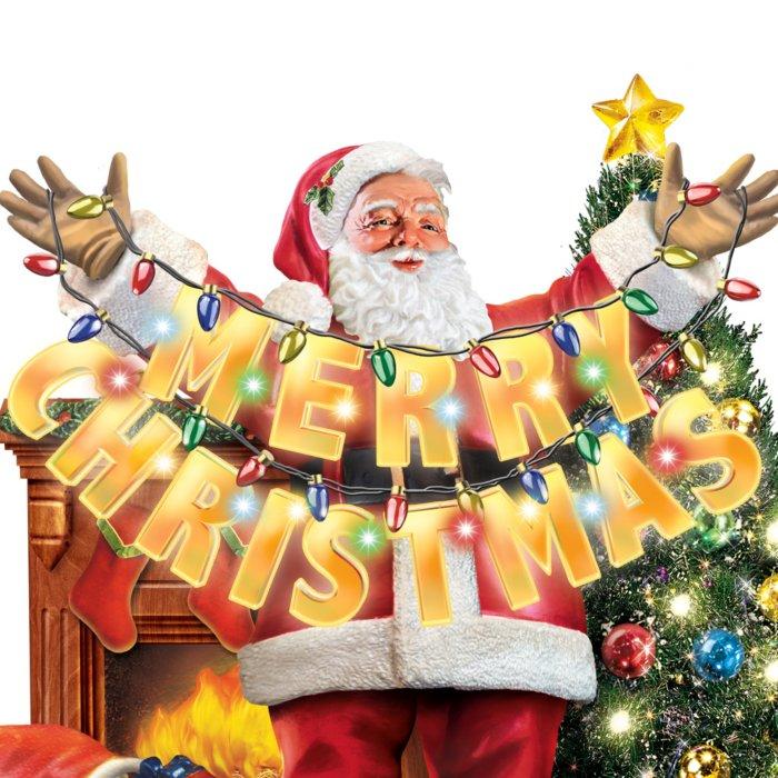 Weihnachtsgrüße Disney.Santas Fröhliche Weihnachtsgrüße