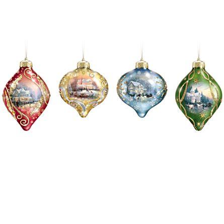 Thomas Kinkade - luminosa festa di Natale