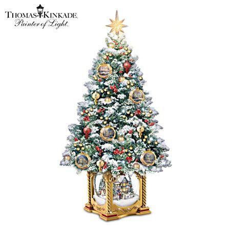"""Thomas Kinkade """"Heiligabend-Weihnachtstraum"""""""
