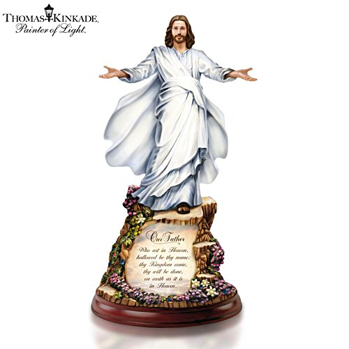 Thomas Kinkade 'The Sermon On The Mount' Sculpture