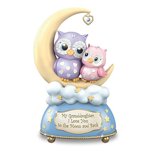 'I Love You To The Moon'  Music Box