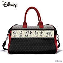 "Disney Mickey Mouse and Minnie Mouse ""Love Story"" Women's Tote Bag"
