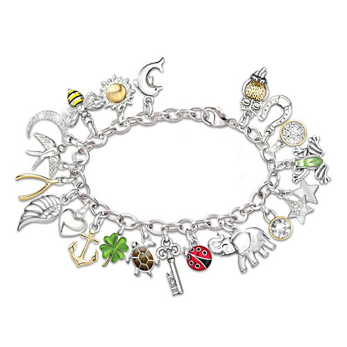'Endless Luck' Charm Bracelet