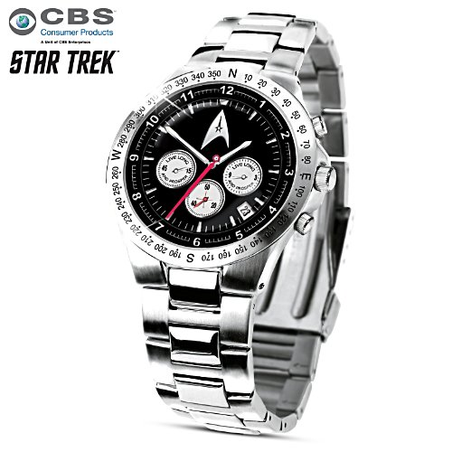 """STAR TREK™: Live Long And Prosper"" Men's Watch"