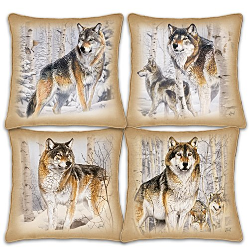 "Al Agnew ""Woodland Majesty"" Pillow Set"