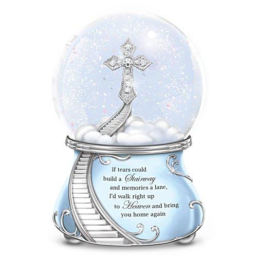 Loving Memories Musical Glitter Globe