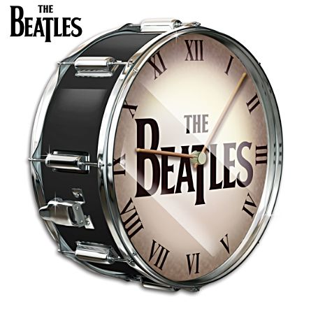 The Beatles Drum Wall Clock