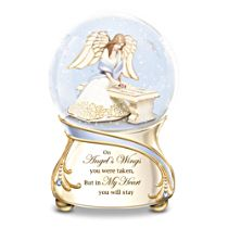 Forever In My Heart Musical Glitter Globe