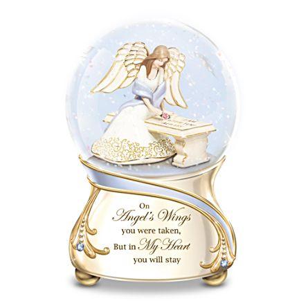 Forever In My Heart Musical Snow Globe