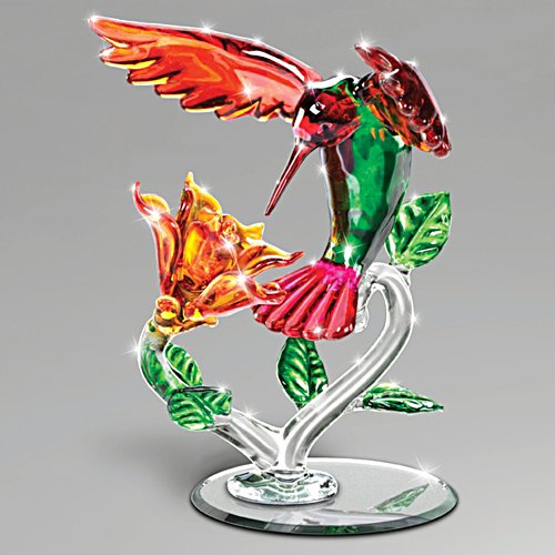 Shimmering Beauty Glass Sculpture