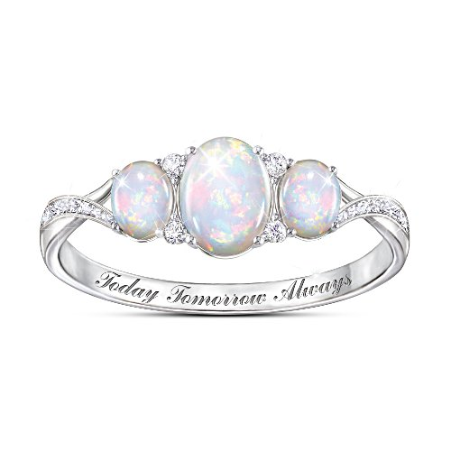 'Light Of Our Love' Opal Ring