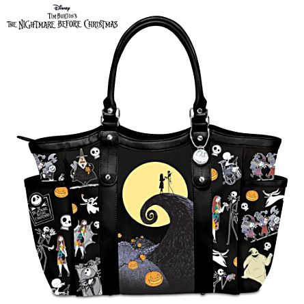Disney Tim Burton S The Nightmare Before Christmas Tote Bag