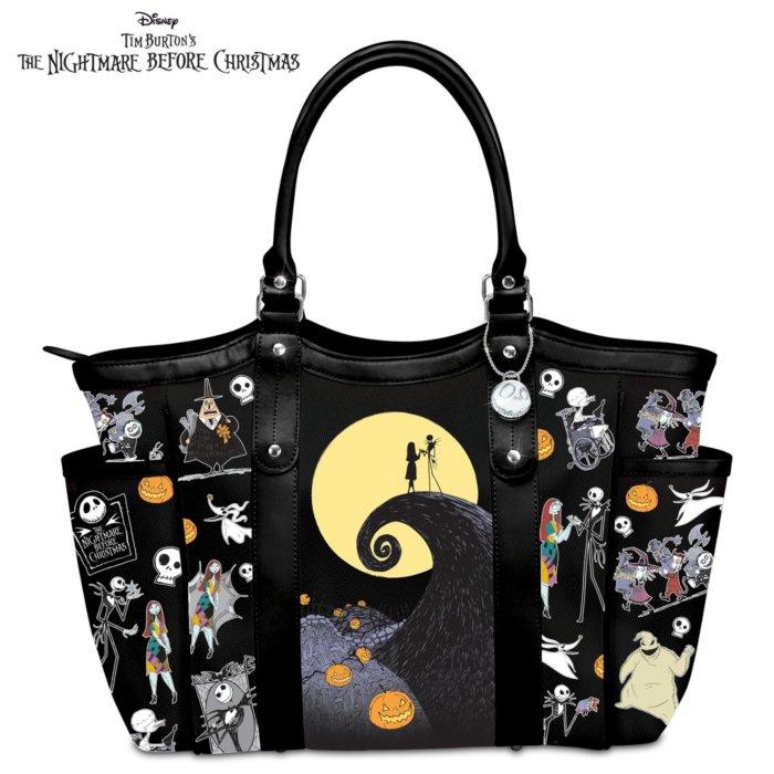 Nightmare Before Christmas Purses Handbags.Disney Tim Burton S The Nightmare Before Christmas Tote Bag